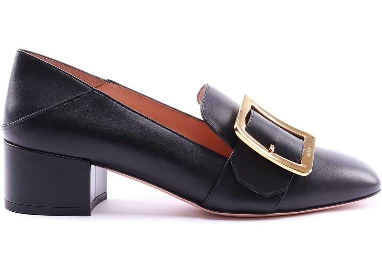 Bally Janelle Loafers In Black Black