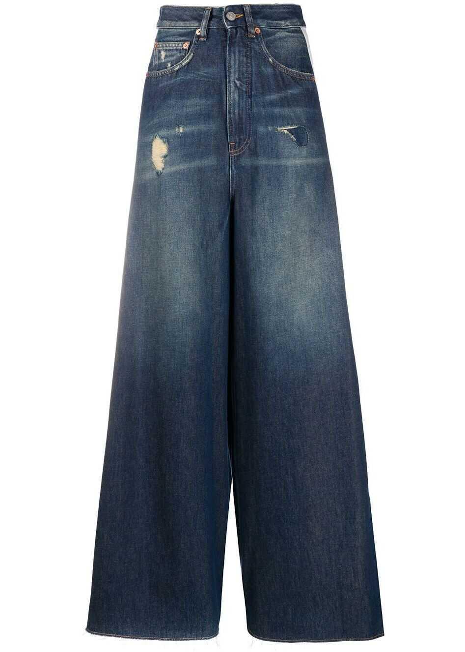 Maison Margiela Cotton Jeans BLUE
