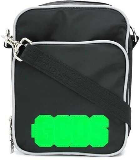 GCDS Polyamide Shoulder Bag BLACK