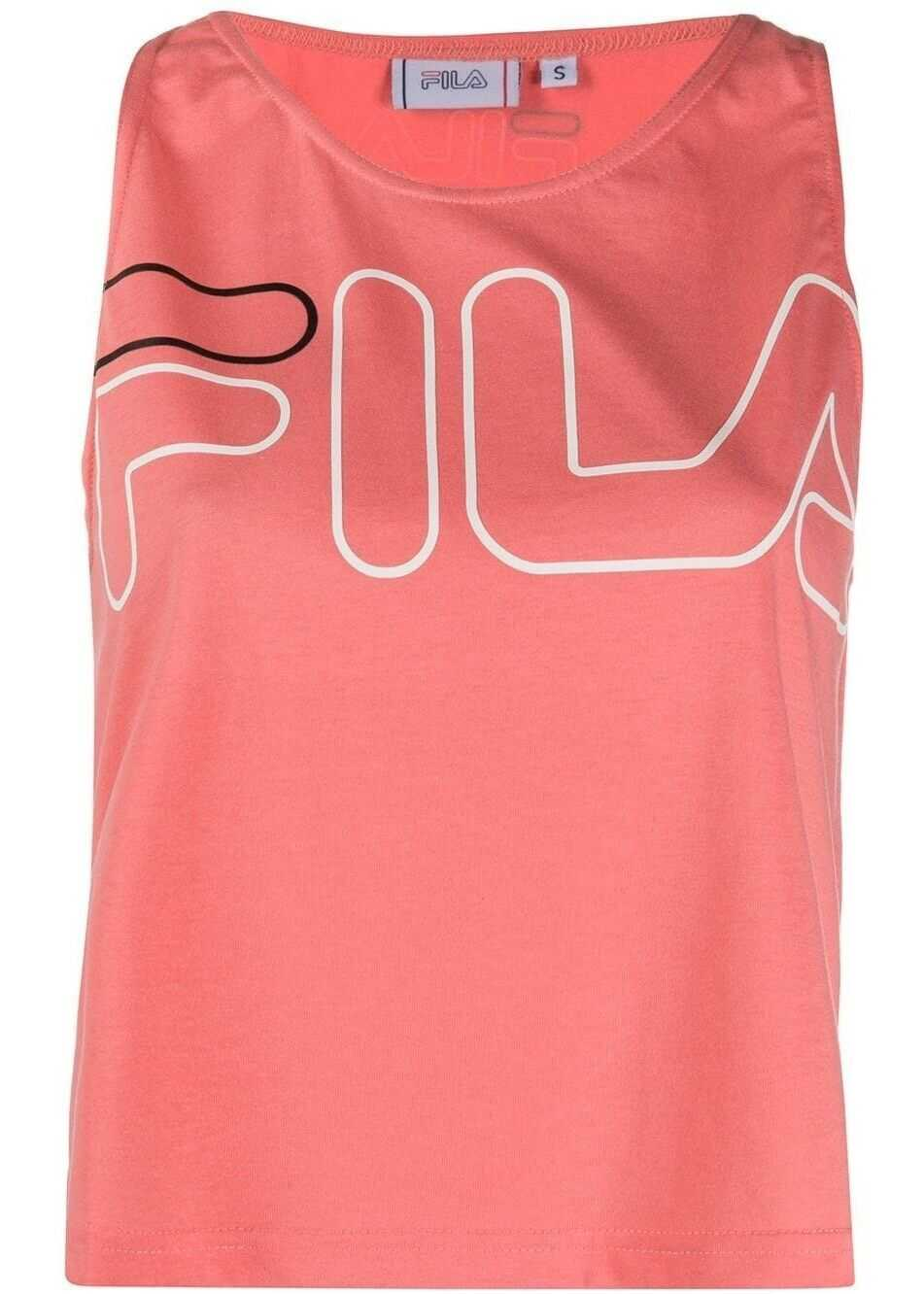 Fila Polyester Top PINK