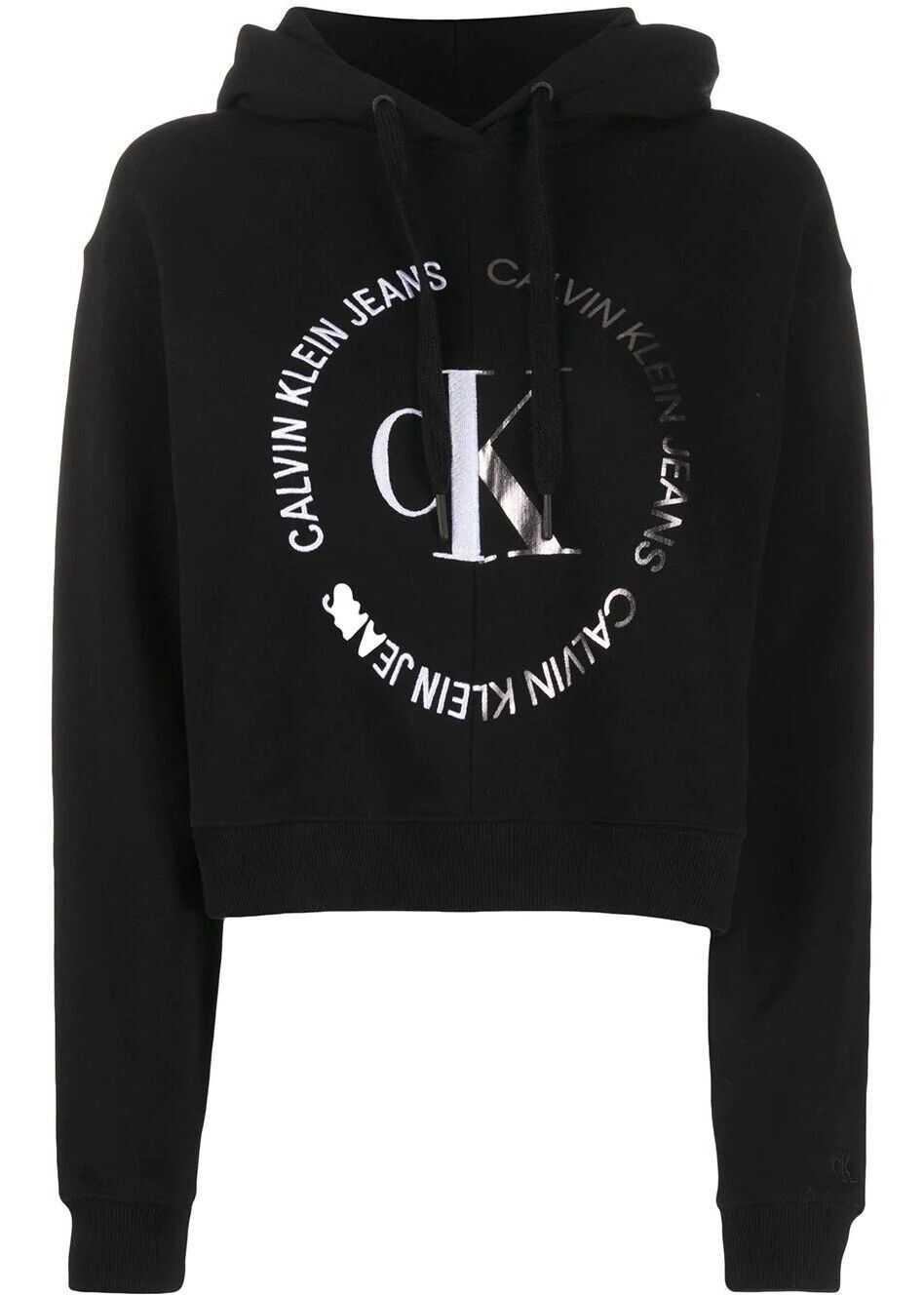 Calvin Klein Jeans Cotton Sweatshirt BLACK
