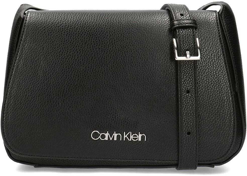 Calvin Klein Neat Saddle Bag Czarny