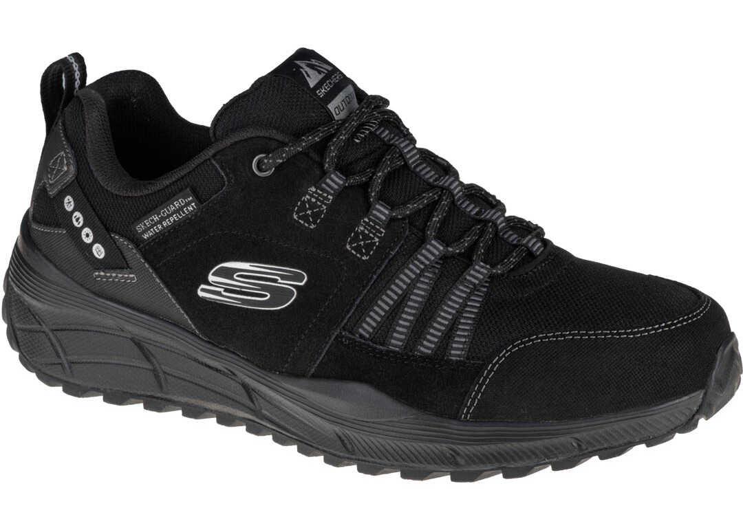 SKECHERS Equalizer 4.0 Trail Black imagine b-mall.ro
