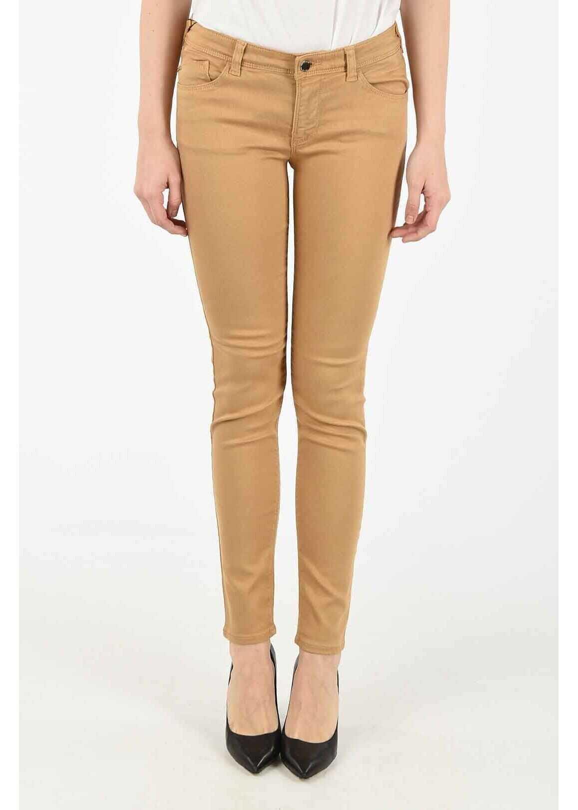 Armani ARMANI JEANS Skinny Fit ORCHID Jeans BROWN