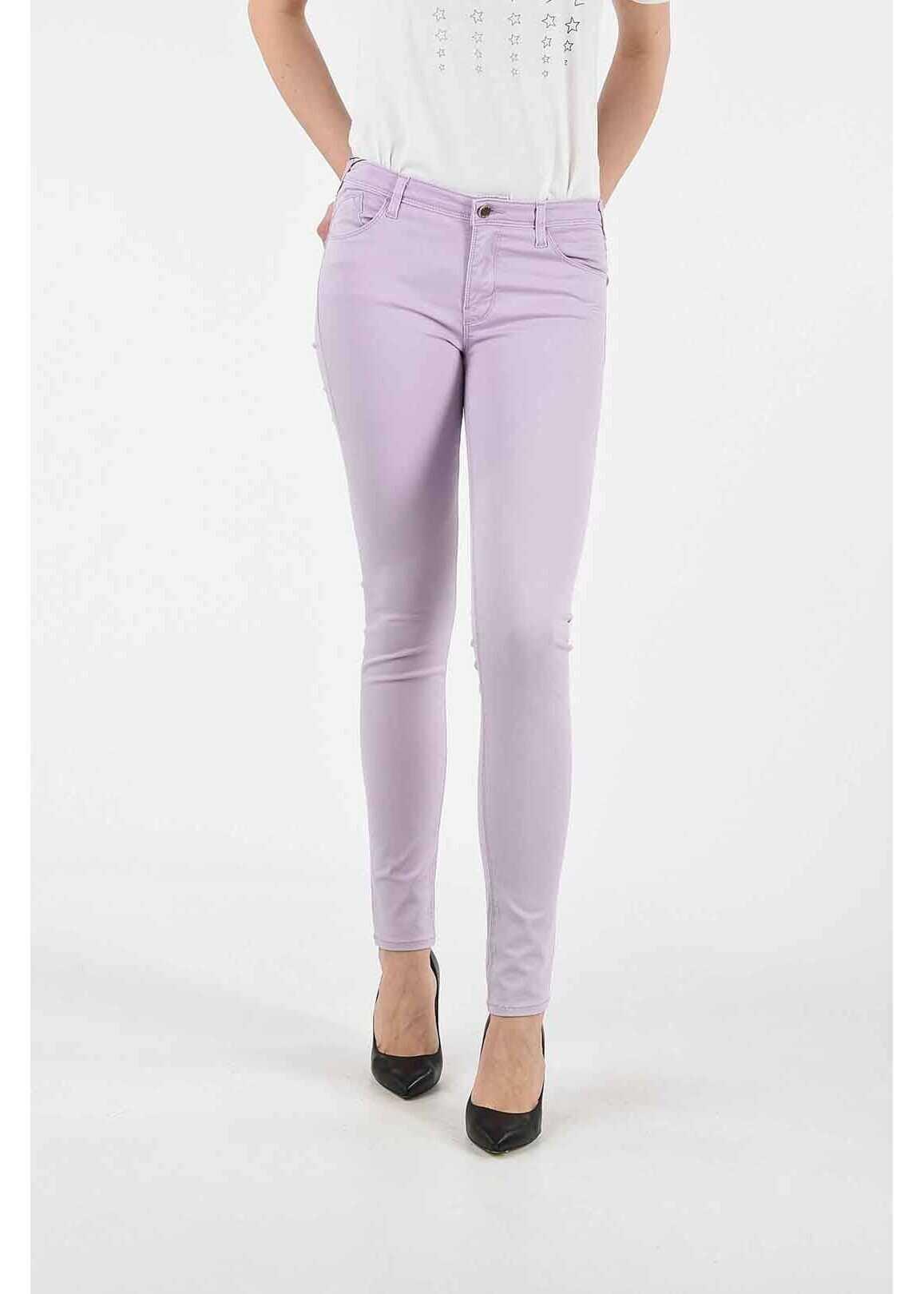 Armani ARMANI JEANS Skinny Fit ORCHID Jeans VIOLET