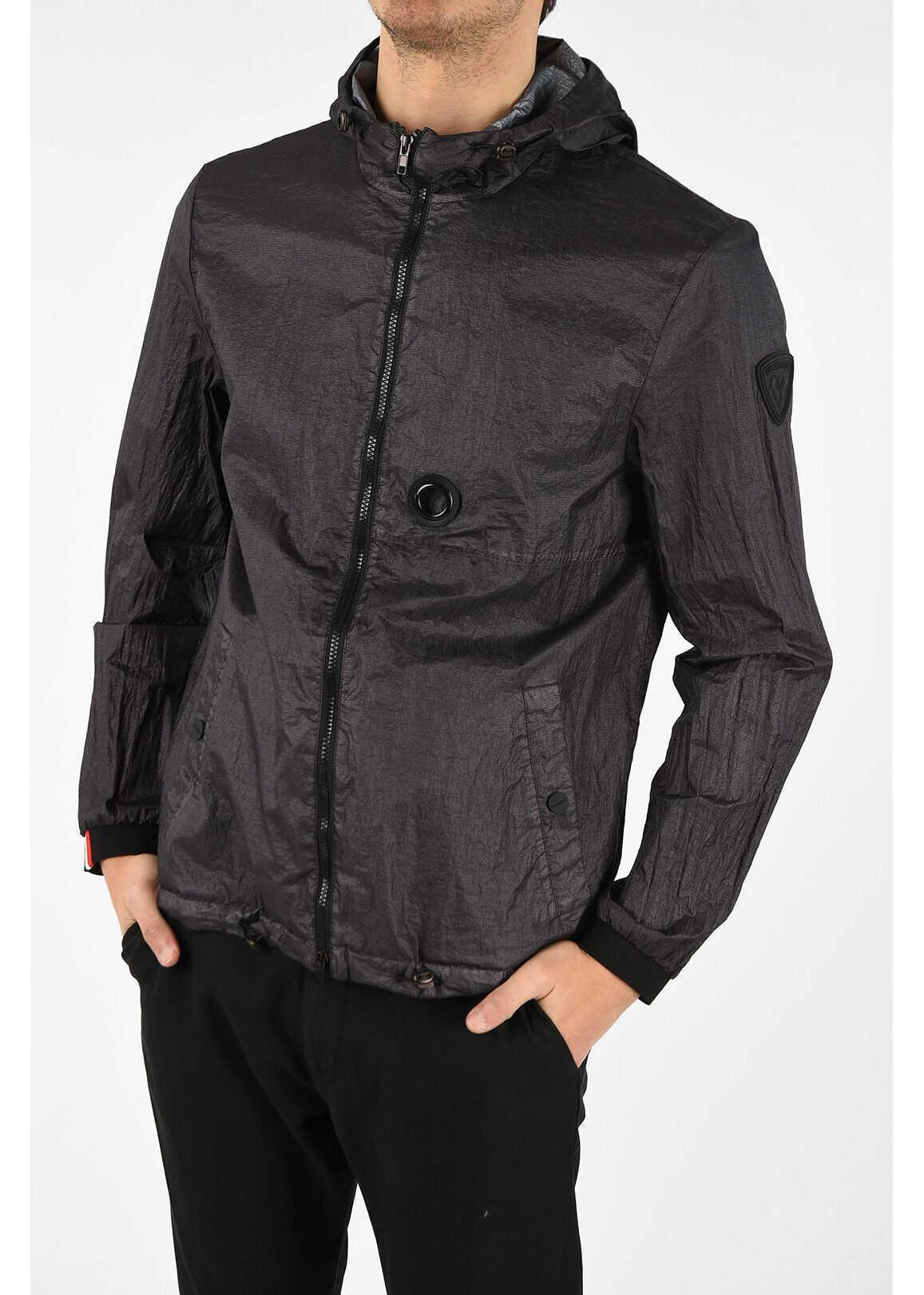Rossignol Hooded Windbreaker BLACK