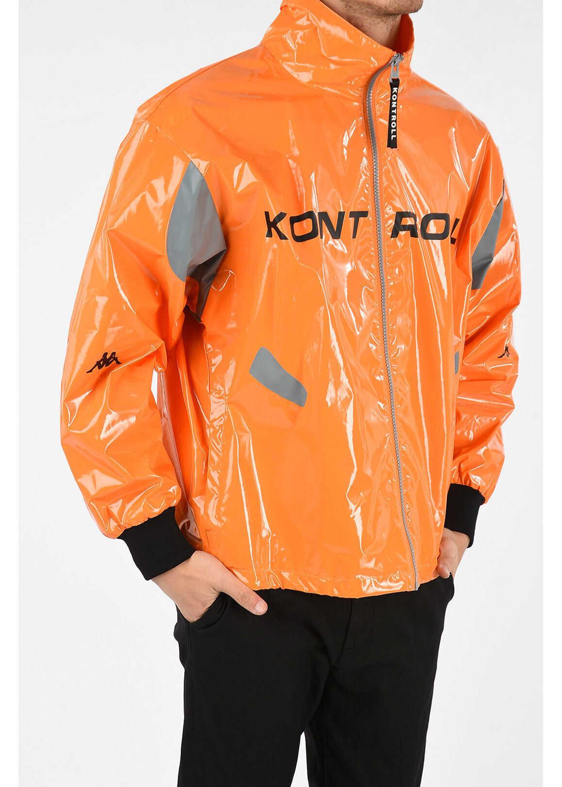 Kappa Full Zip KONTROLL Jacket ORANGE