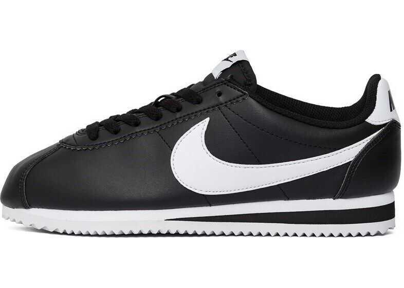 Nike Wmns Classic Cortez Leather Black* ALB/NEGRE