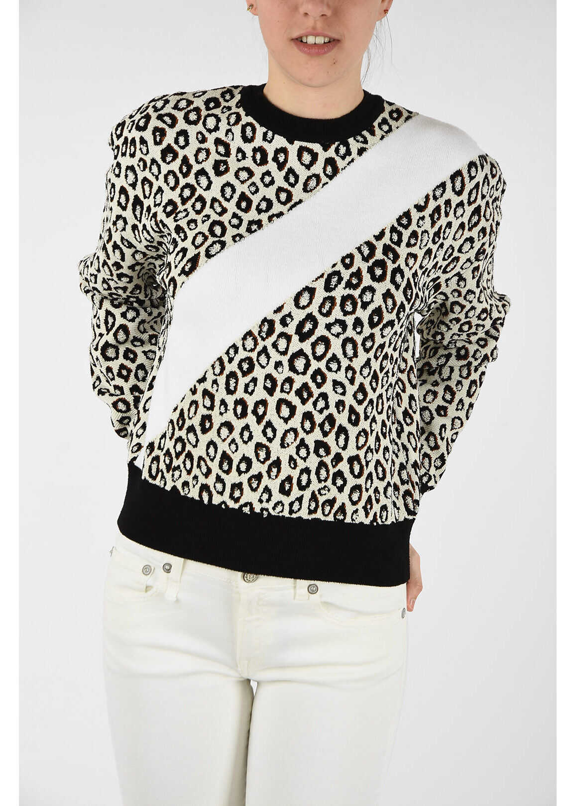 Givenchy embroidered sweater BLACK & WHITE