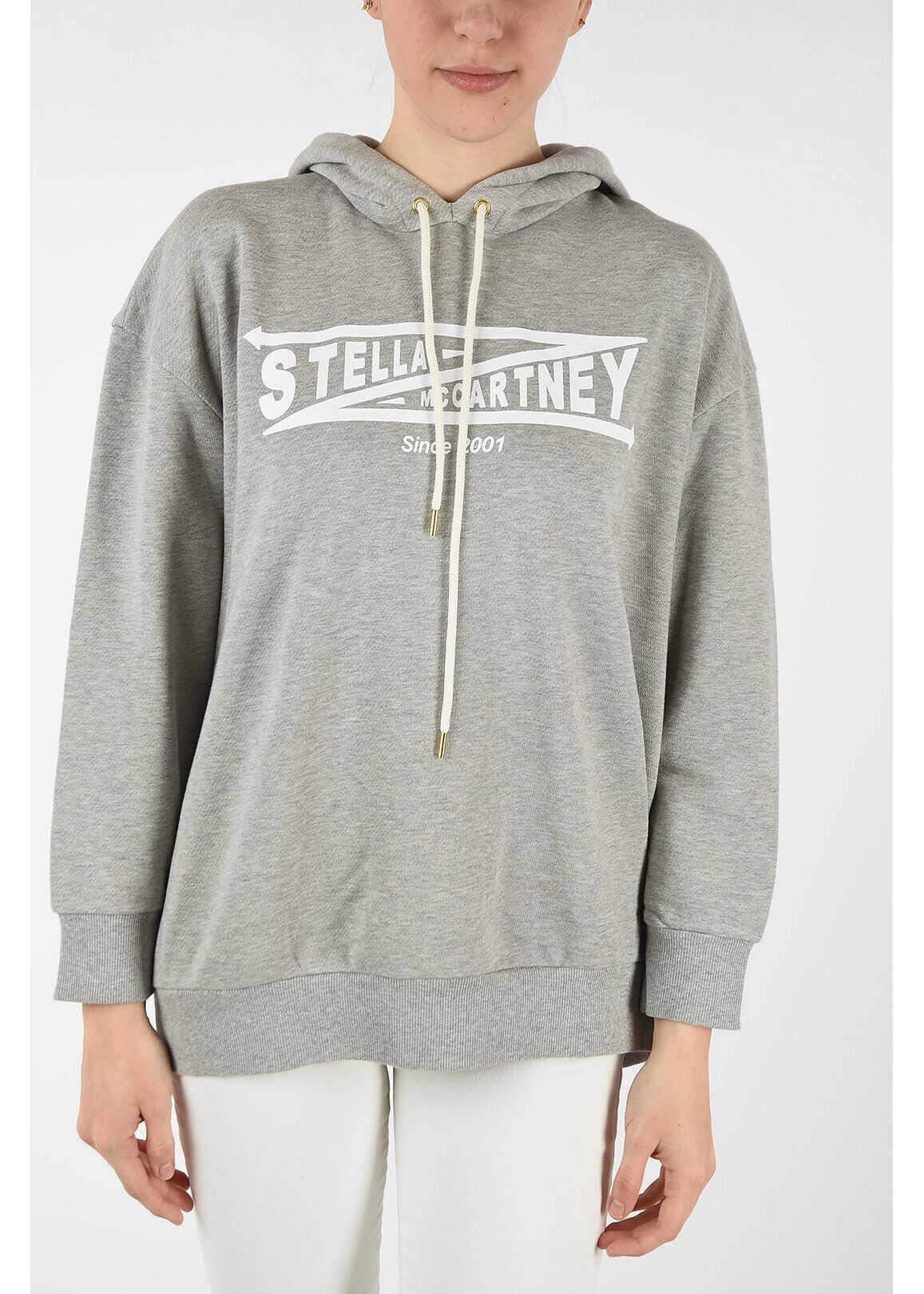 adidas by Stella McCartney hoodie sweatshirt GRAY