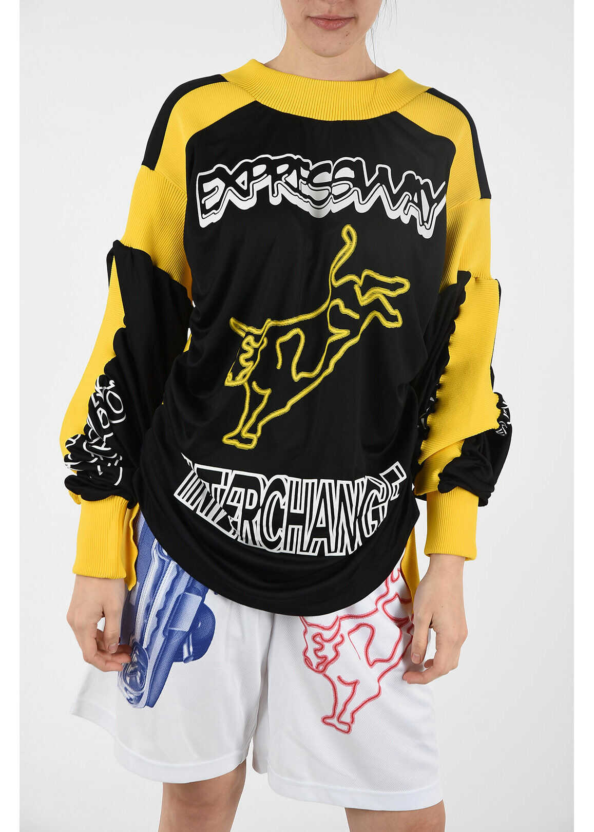 Calvin Klein EST.1978 JEANS printed sweatshirt YELLOW