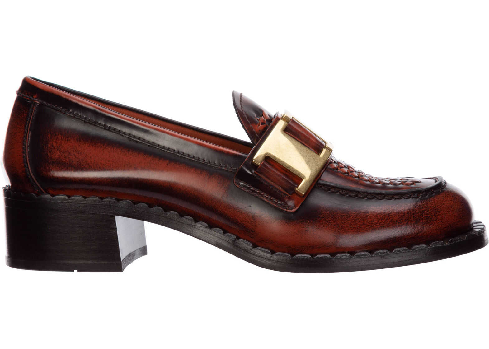 Prada Loafers Moccasins Brown