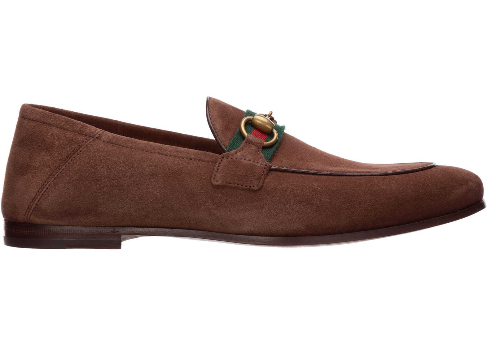 Gucci Loafers Moccasins Brown