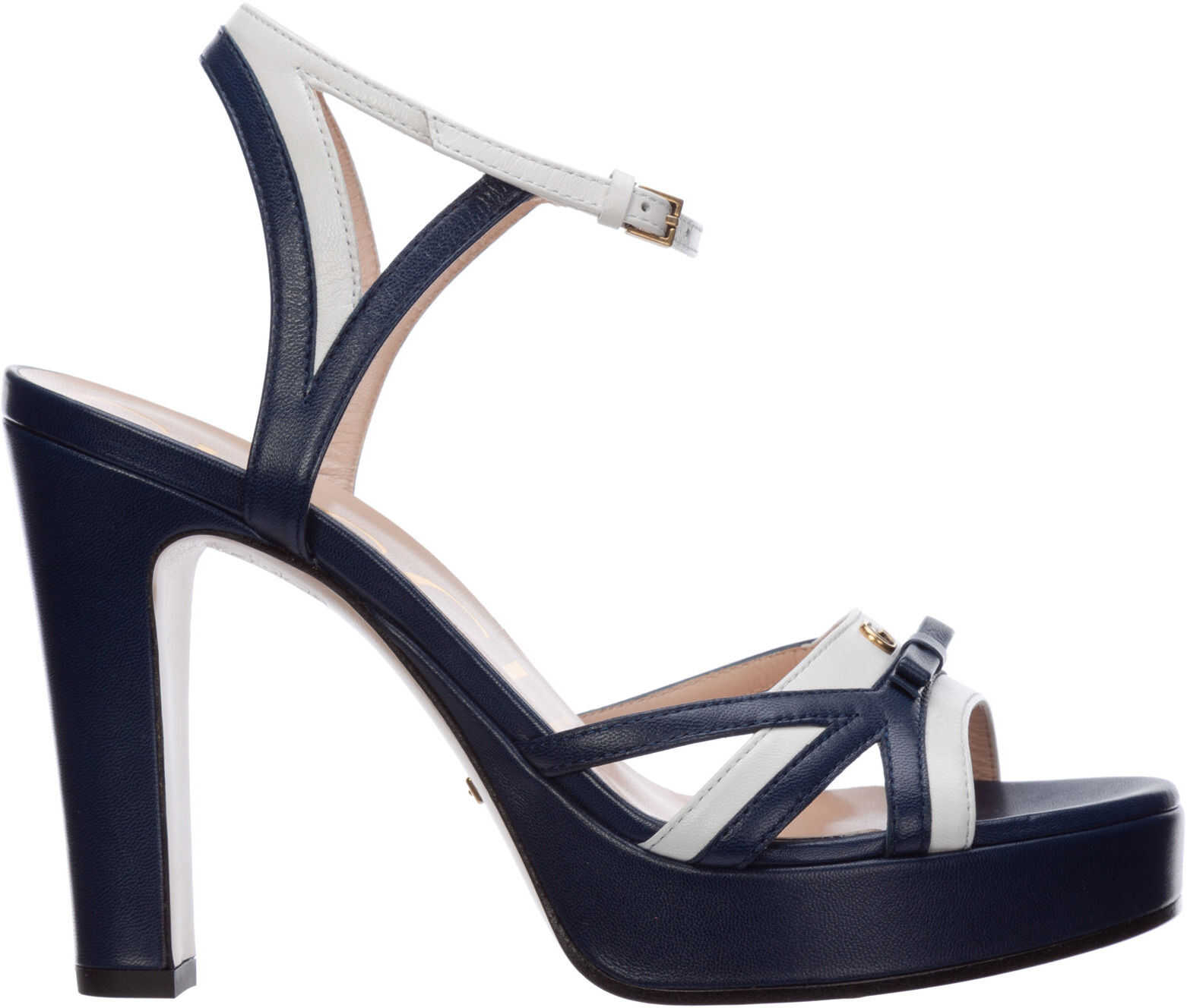 Gucci Heel Sandals Blue