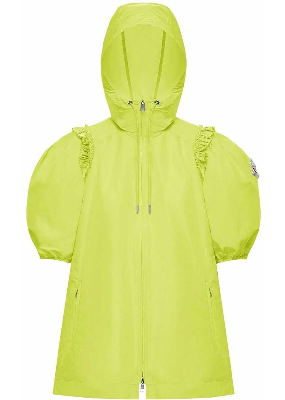 Moncler Polyester Outerwear Jacket GREEN