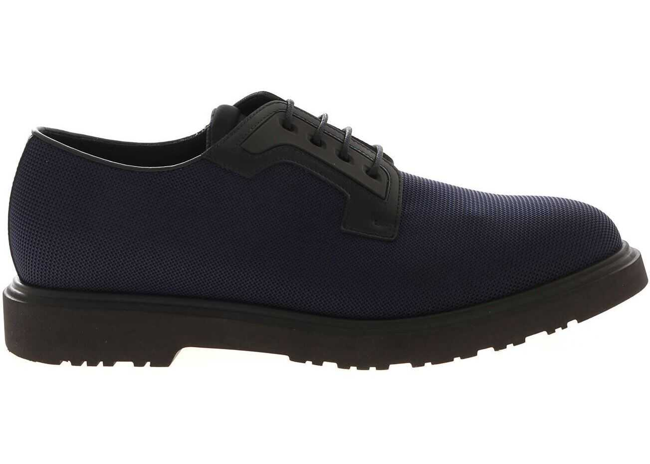 Paul Smith Mac Derby In Blue And Black Blue