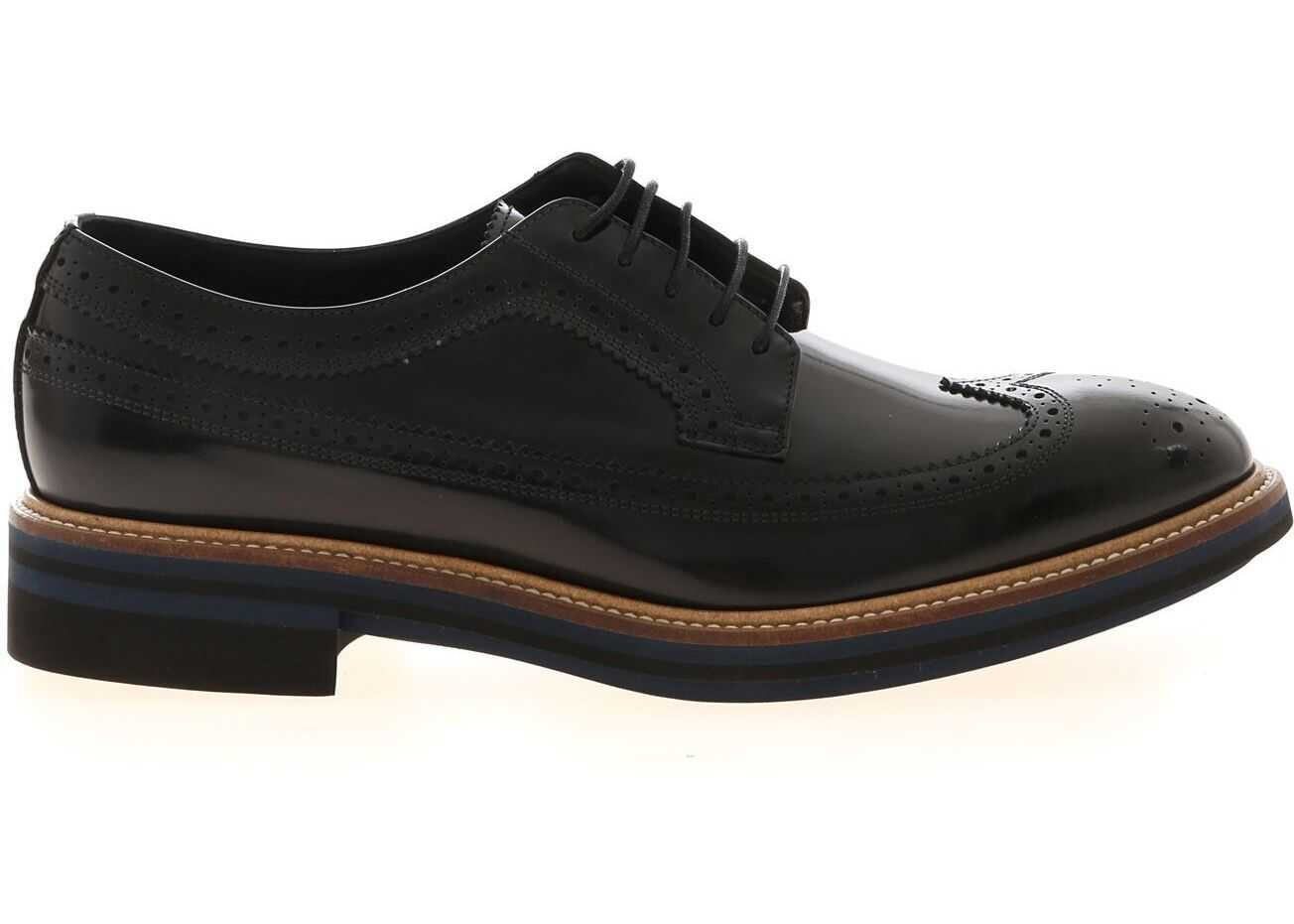 Paul Smith Chase Derby In Black Black