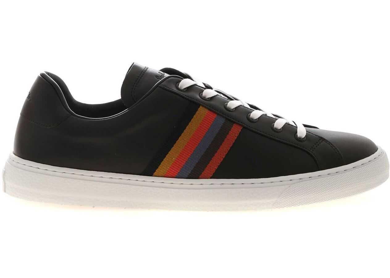 Paul Smith Hansen Sneakers In Black Black