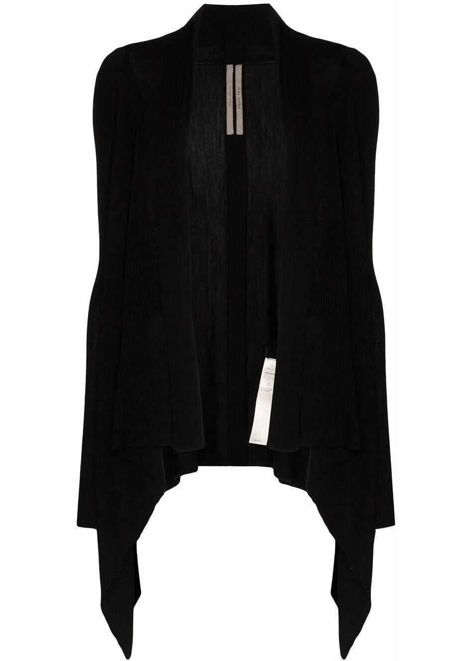 Rick Owens Wool Cardigan BLACK