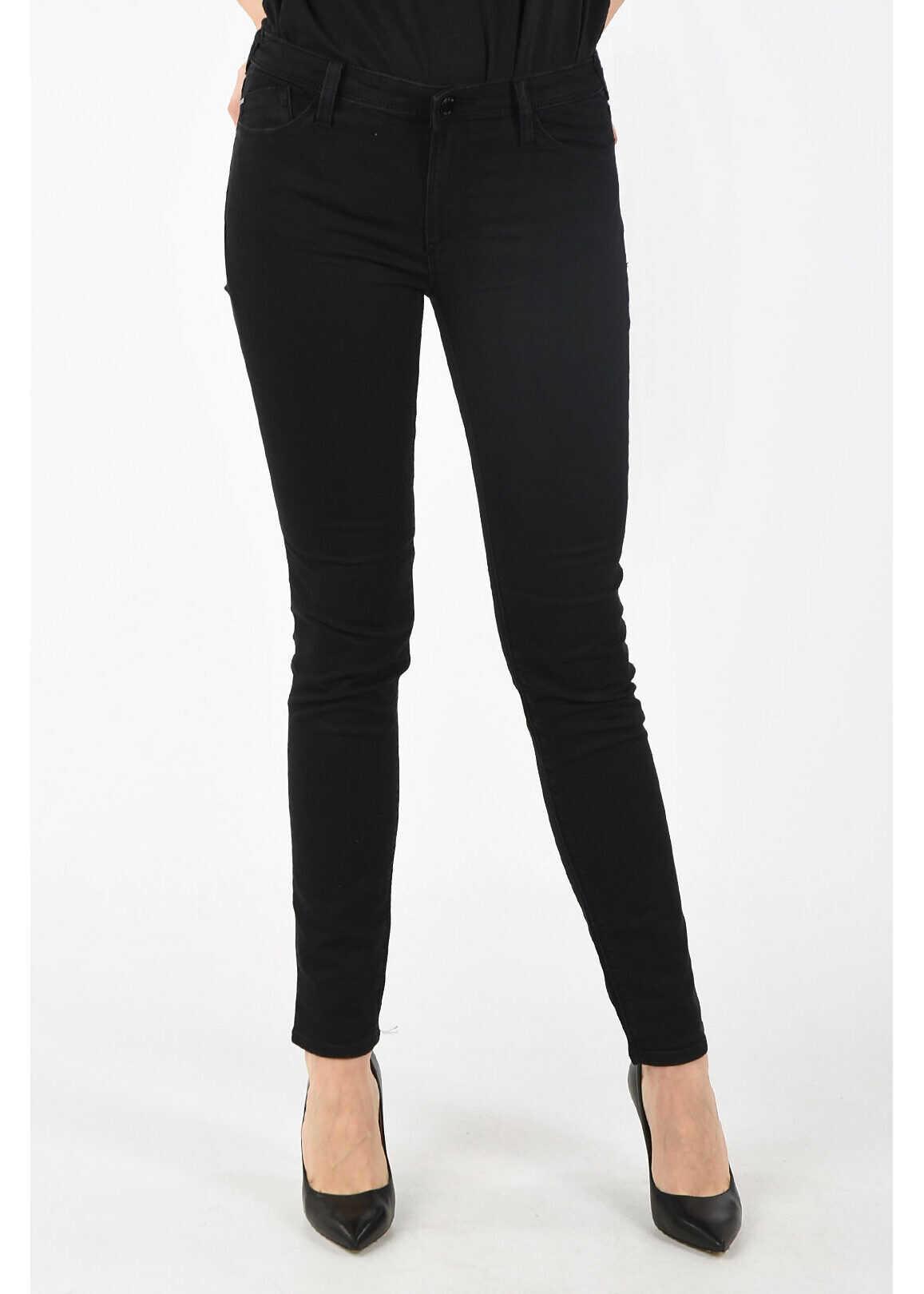 Armani ARMANI JEANS Skinny Fit ORCHID Jeans BLACK