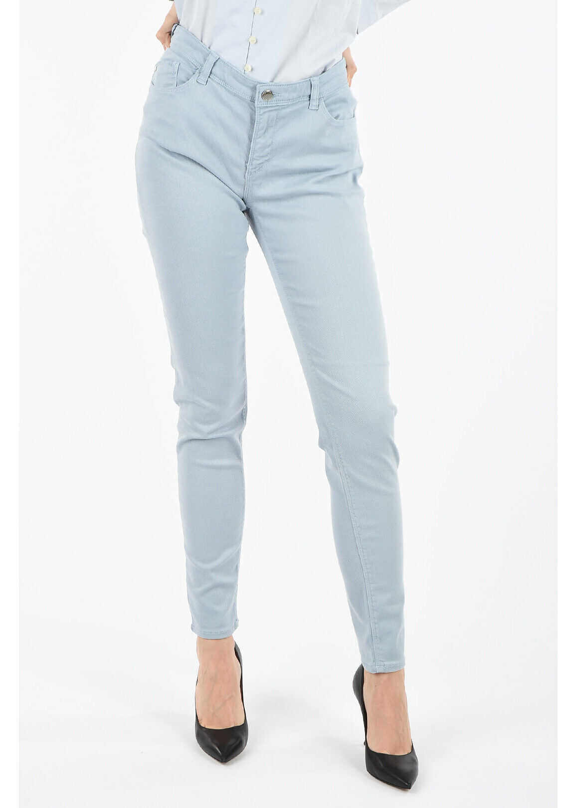 Armani ARMANI JEANS Skinny Fit Jeans LIGHT BLUE