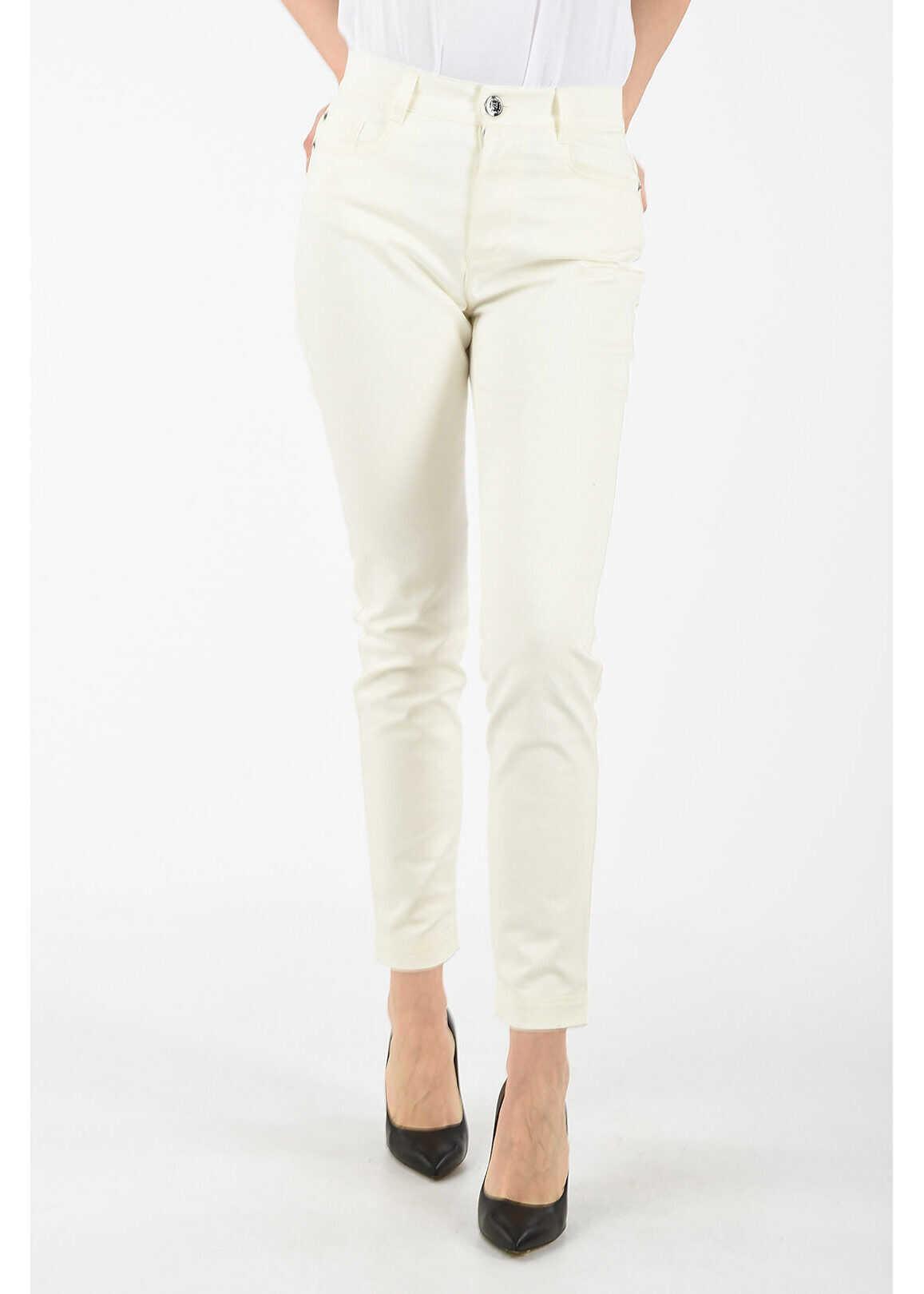 Fendi regular fit jeans WHITE