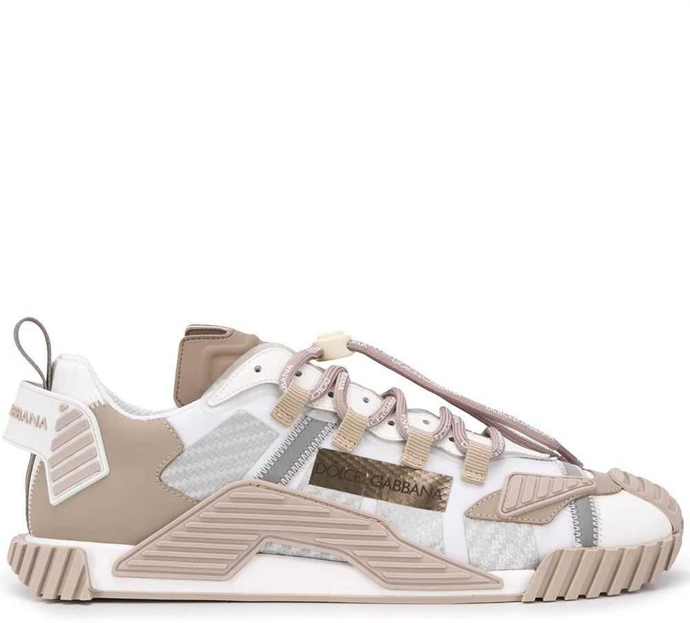 Dolce & Gabbana Leather Sneakers* WHITE