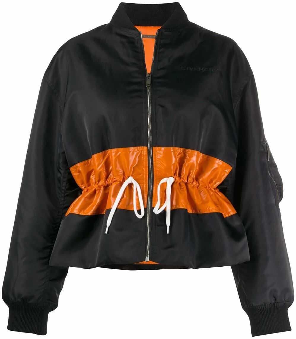 Givenchy Polyamide Outerwear Jacket BLACK