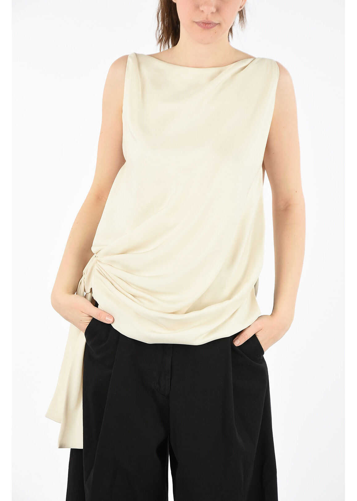 Tom Ford Top with Bow BEIGE