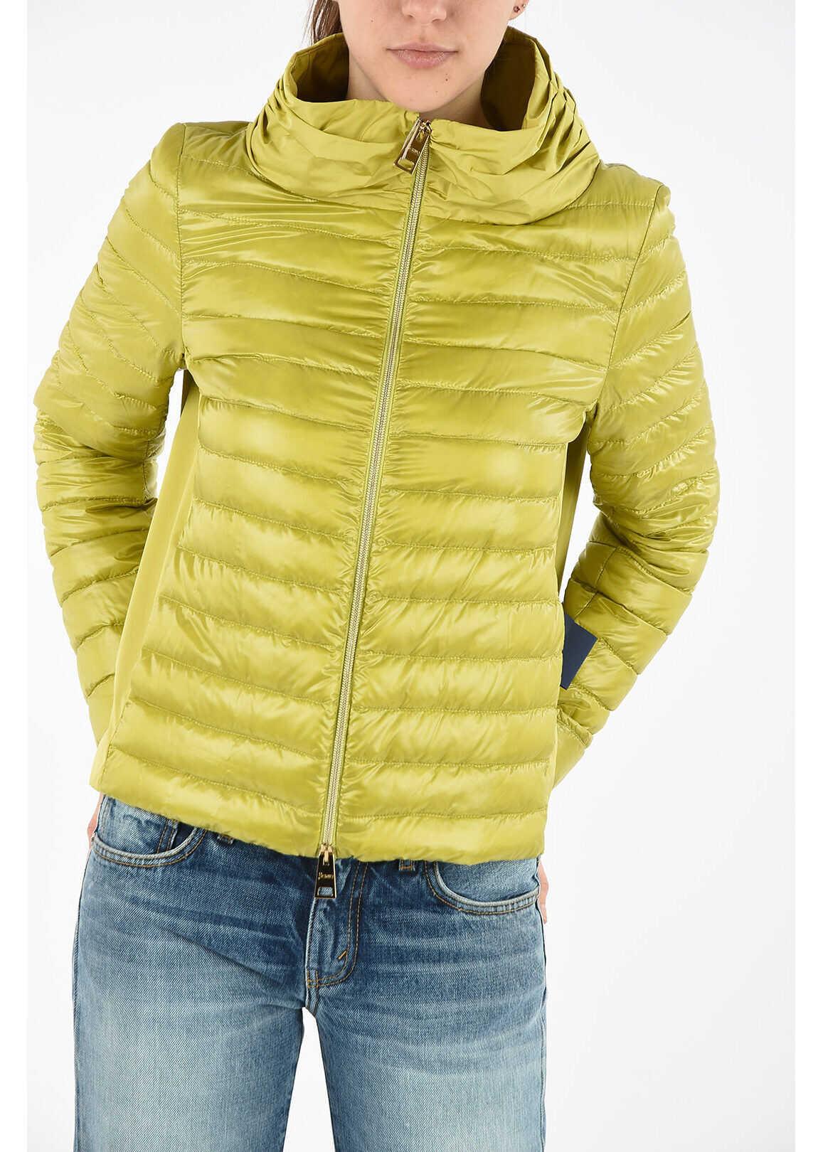 Herno Lightweight quilted jacket GREEN