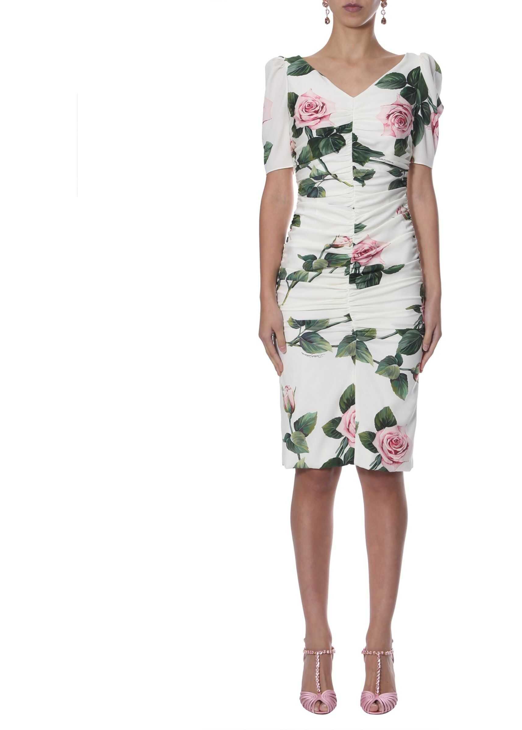 Dolce & Gabbana Long Dress WHITE