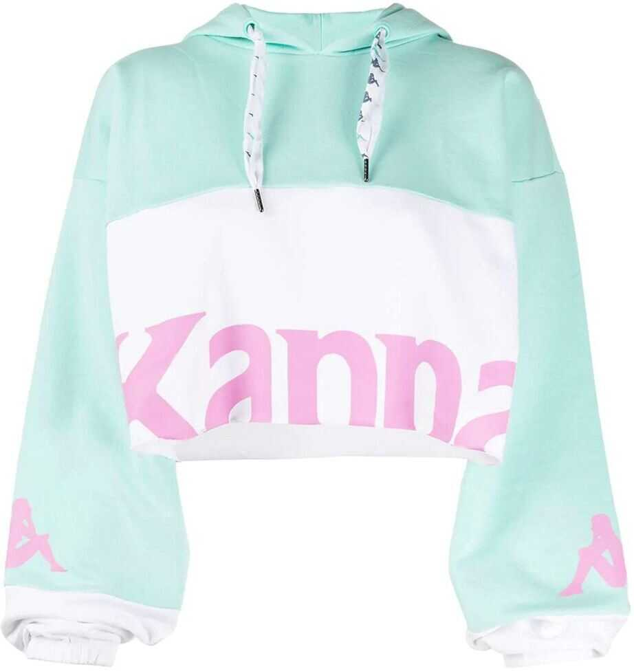 Kappa Cotton Sweatshirt LIGHT BLUE