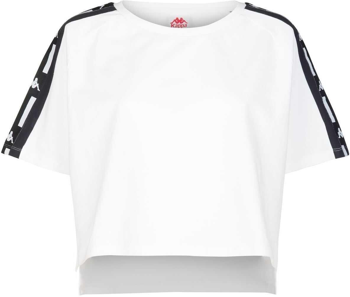 Kappa Cotton T-Shirt WHITE