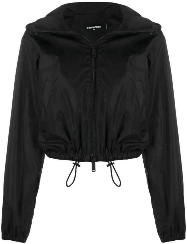 DSQUARED2 Polyester Outerwear Jacket BLACK