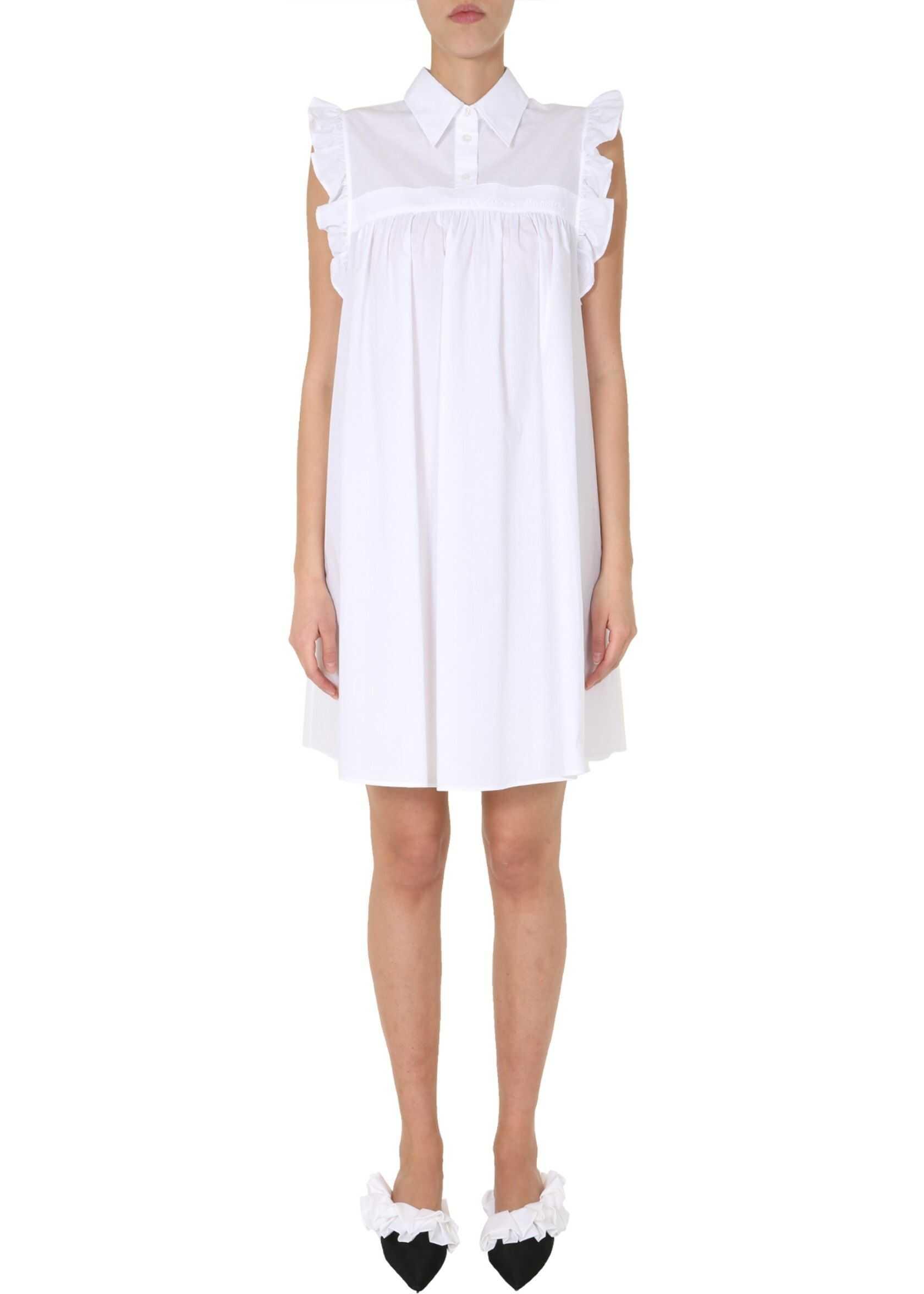 MM6 Maison Margiela Chemisier Dress WHITE