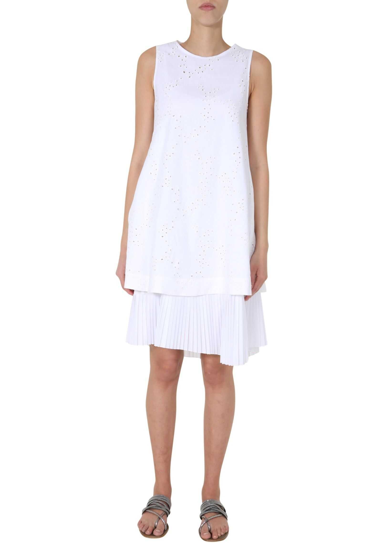 Fabiana Filippi Midi Dress WHITE