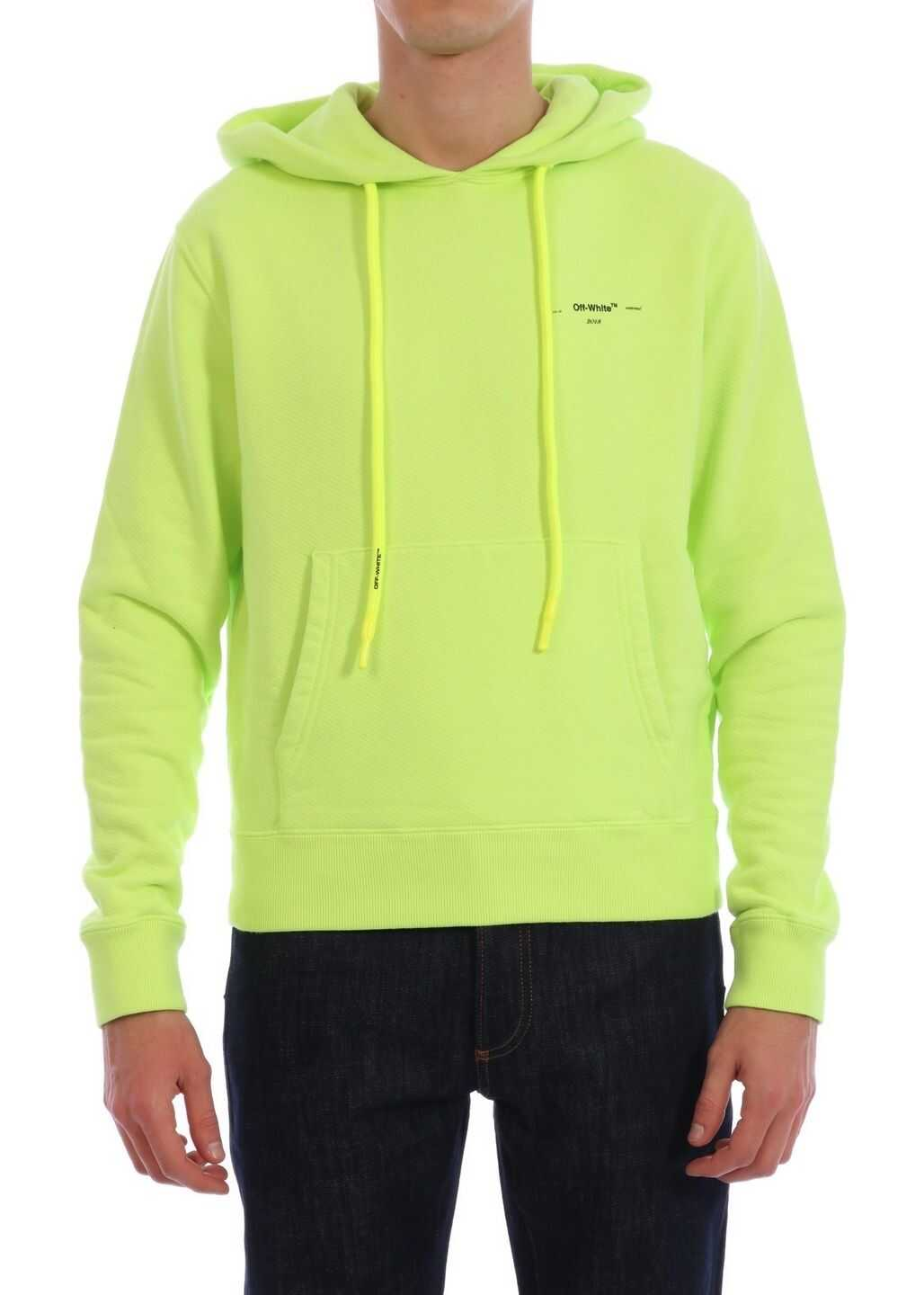 Off-White Fluo Hoodie Yellow