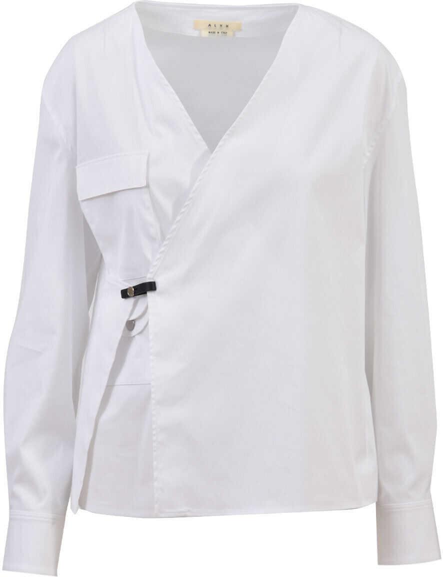 Alyx Wrap Shirt White