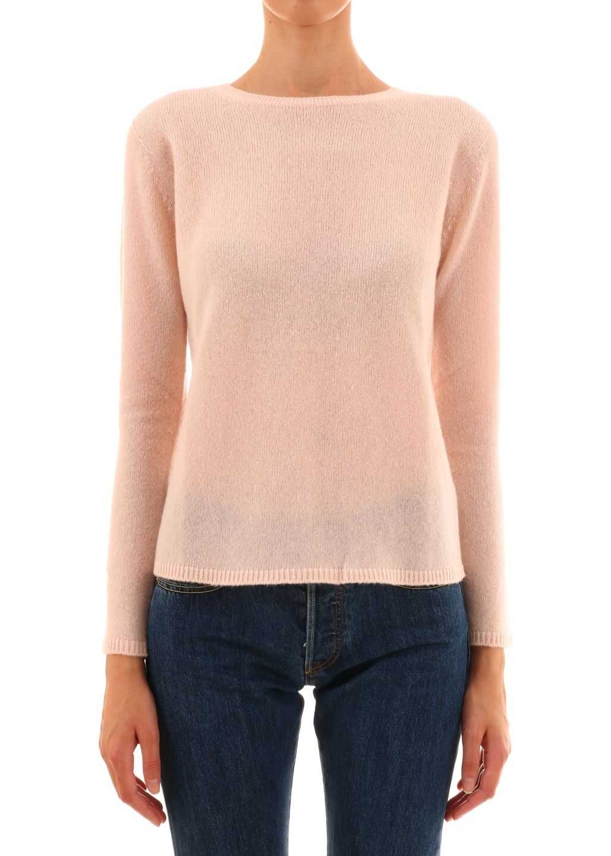 Max Mara Cashmere And Silk Sweater Pink