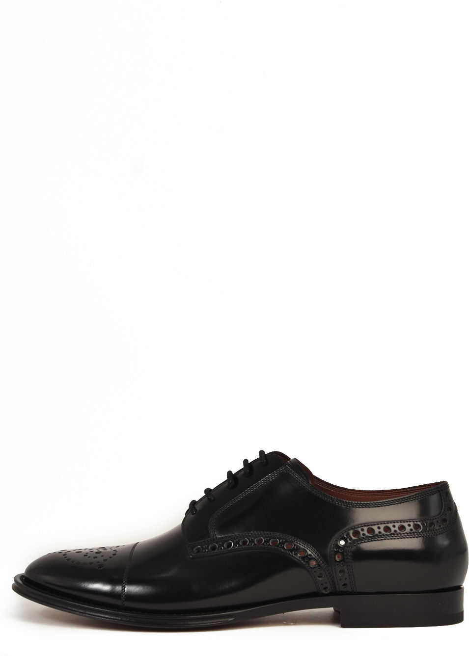 Dolce & Gabbana Duilio Leather Shoes Black