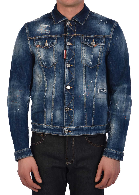 DSQUARED2 Denim Jacket Blue