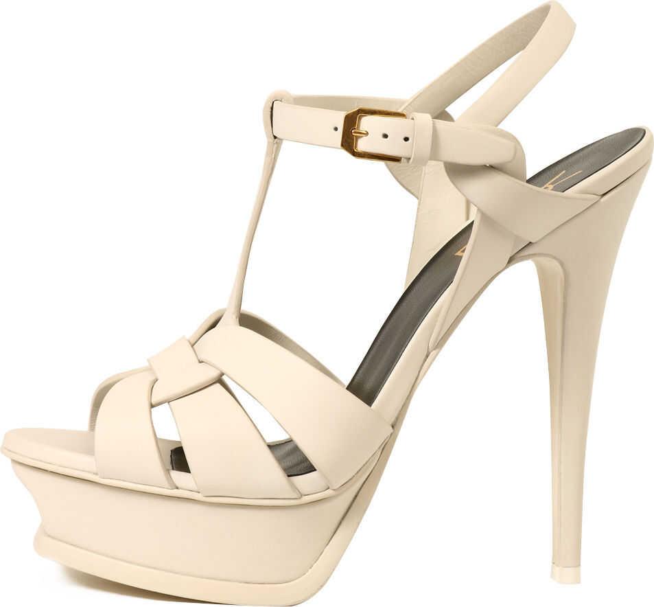Saint Laurent Sandals Tribute White