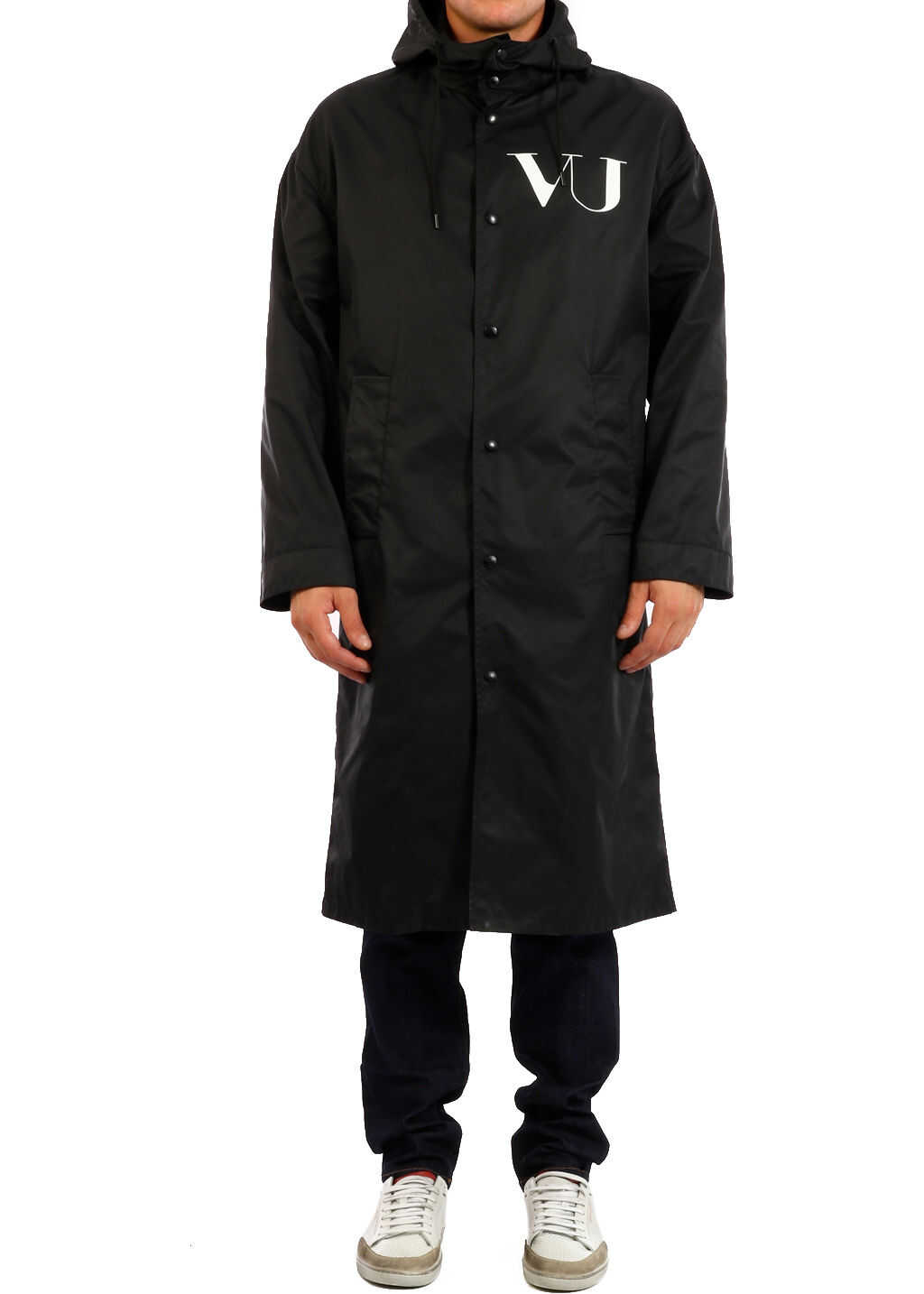 Valentino Garavani Raincoat Undercover Ufo Black imagine