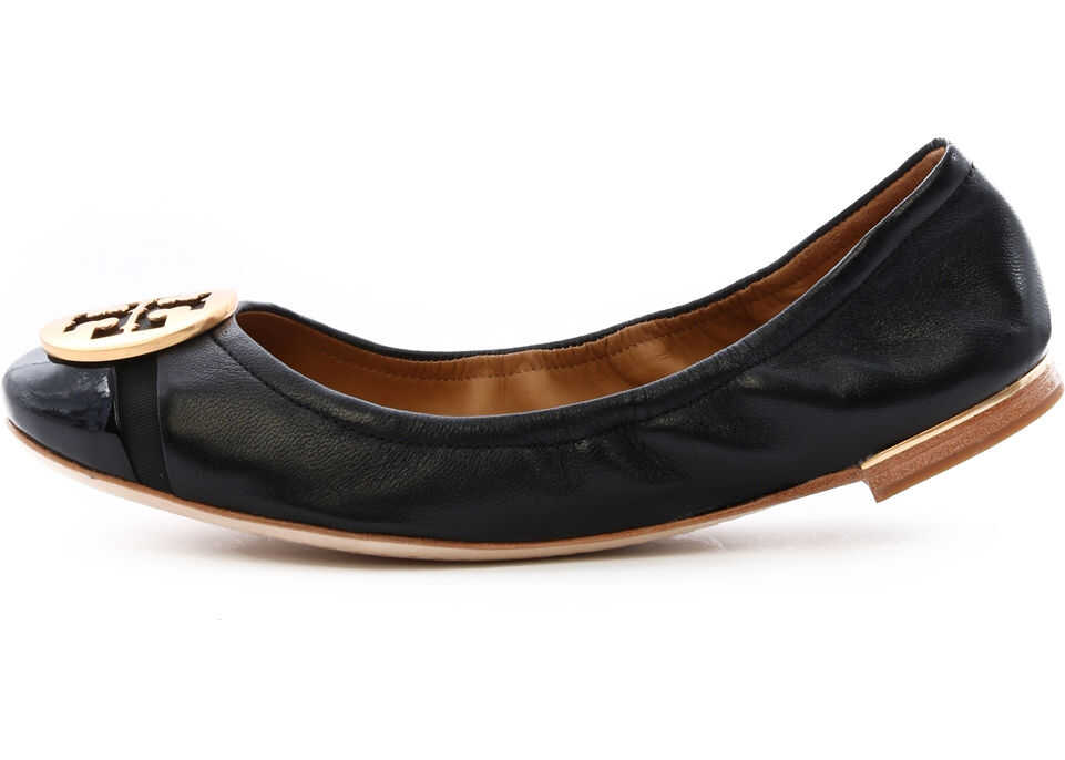 Tory Burch Minnie Ballet Flat Black