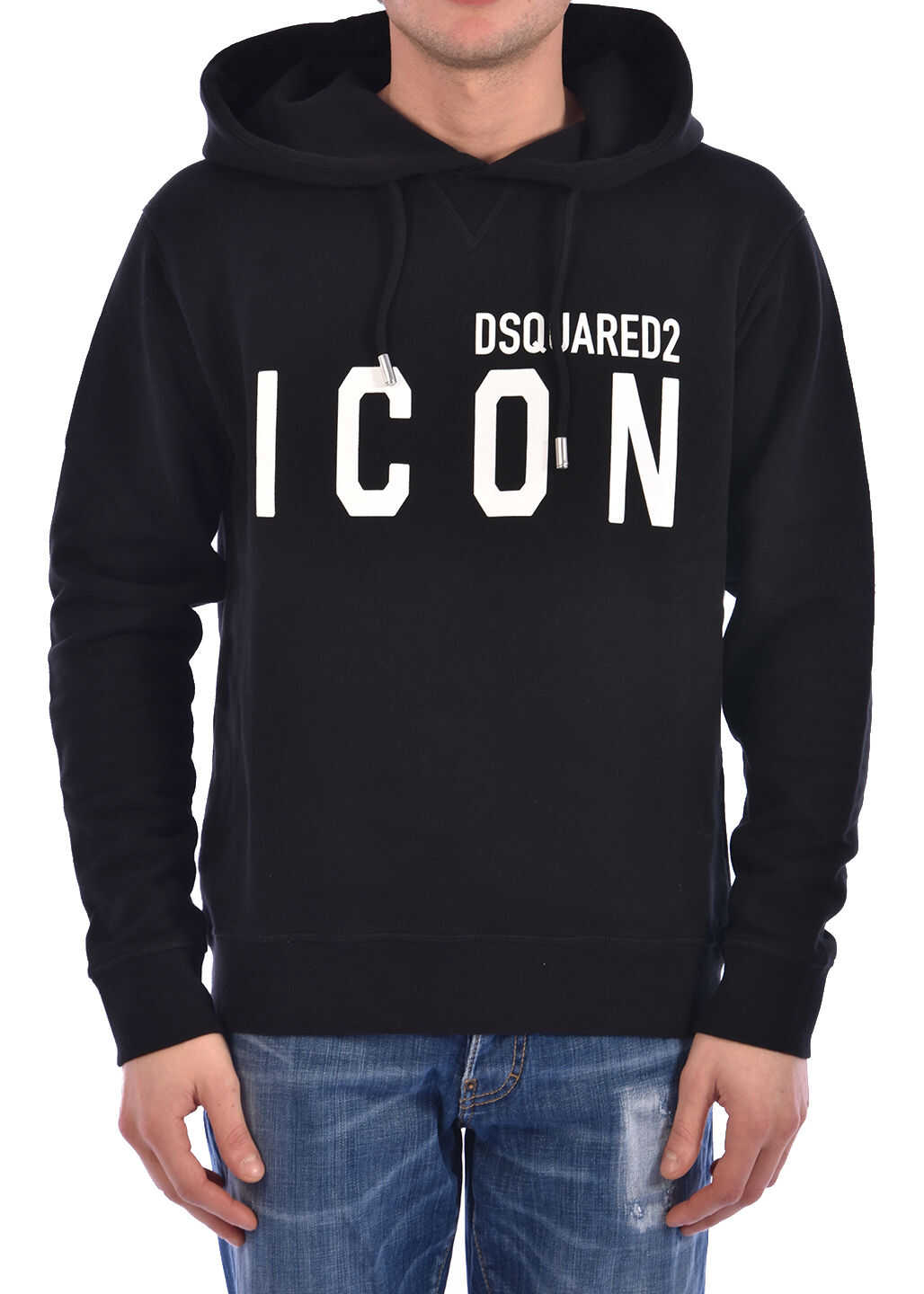 DSQUARED2 Sweatshirt Icon Black