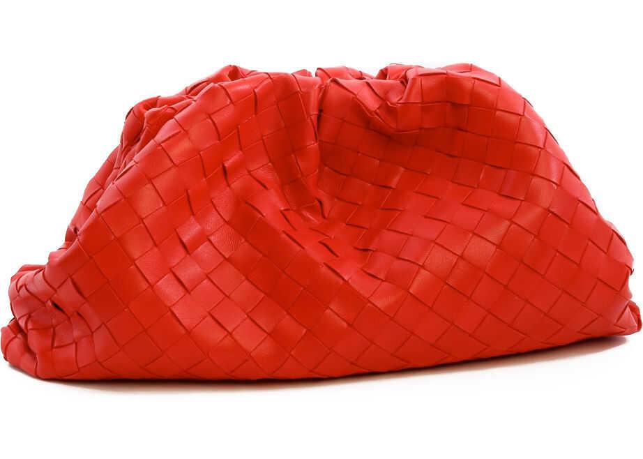 Bottega Veneta The Pouch 576175 VCPP0 Red imagine b-mall.ro
