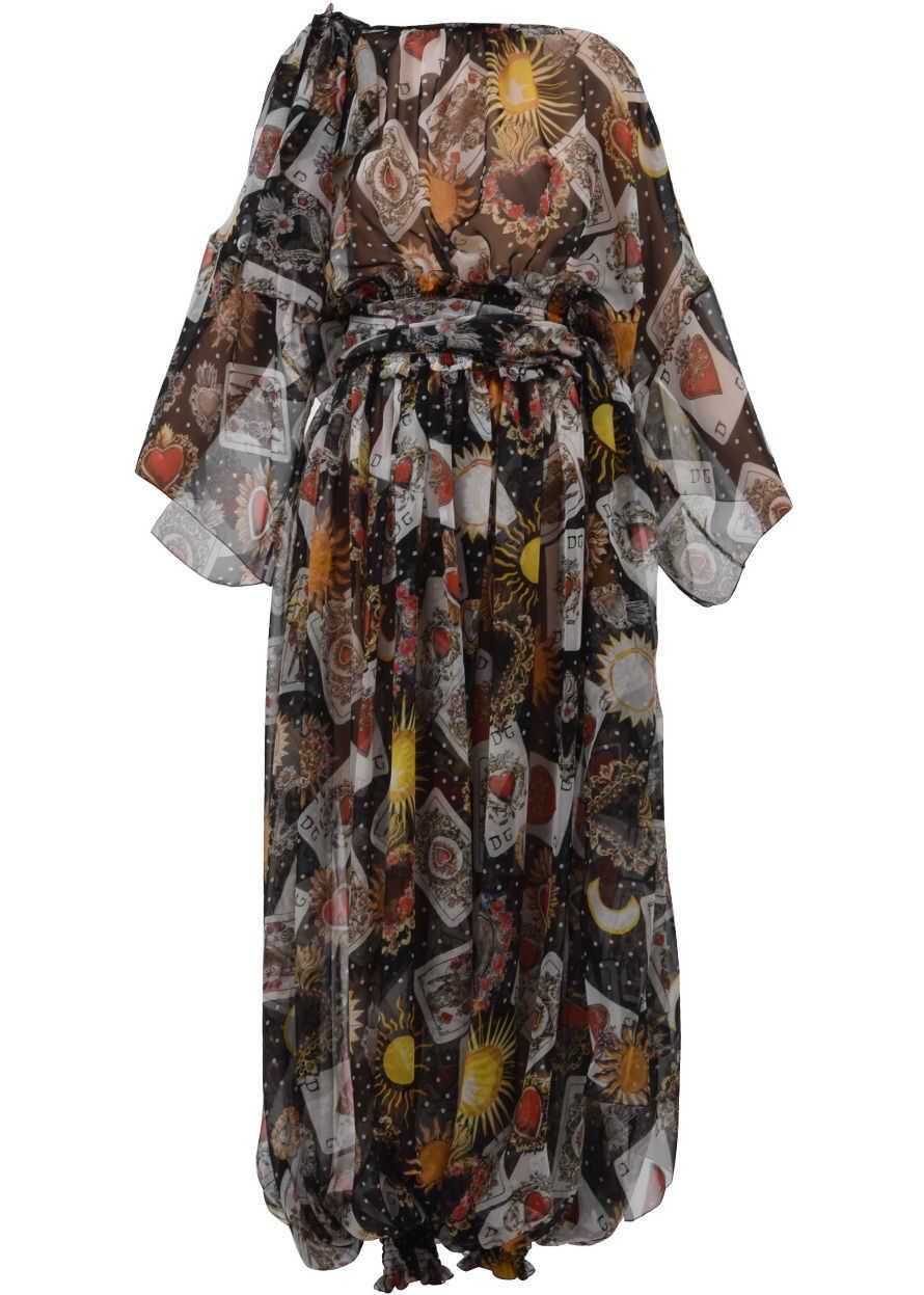 Dolce & Gabbana Chiffon Jumpsuit Black