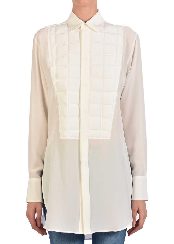 Bottega Veneta Padded Quilting Shirt White