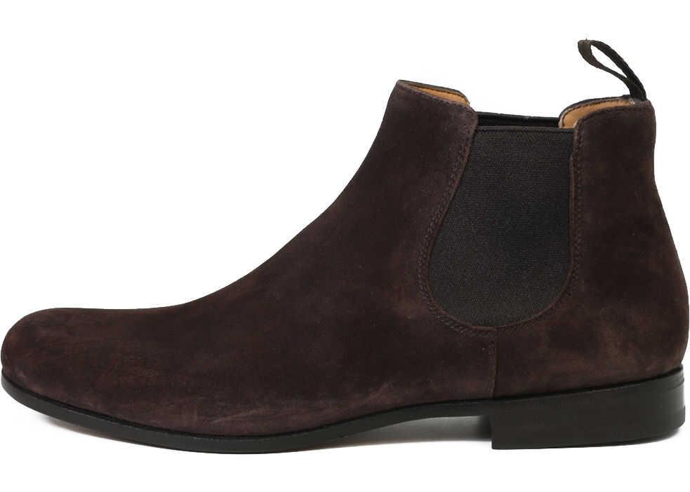 Church's Danzey Ankle Boots ETB069 9CA Brown imagine b-mall.ro