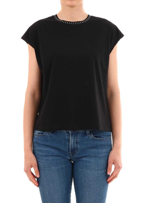 Céline T-Shirt Mini Studs Black